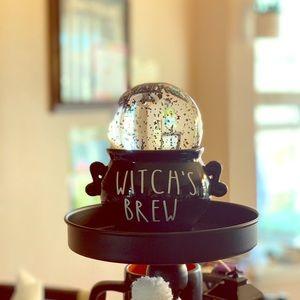 Inspired Witch's Brew Cauldron snowglobe